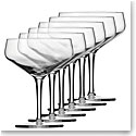 Schott Zwiesel Tritan Crystal, Charles Schumann Basic Bar Cocktail Crystal Glasses, Set of Six