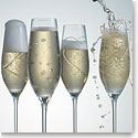 Royal Doulton, Party Crystal Flute, Set of 4
