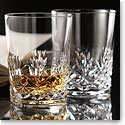 Cashs Ireland, Annestown Single Malt Crystal Whiskey Glasses, Set of Four