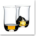 Riedel Whiskey O Crystal Tumblers, Pair
