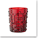 Nachtmann Punk Whiskey Tumbler Ruby, Single