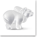 Lalique Zodiac Ox Sculpture, Clear