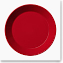"Iittala Teema Bread and Butter Plate 6.75"" Red"