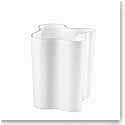 """Iittala Alvar Aalto 7 3/4"""" Vase, White"""