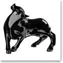 Lalique Crystal, Bull Taureau Vuelta Black, Limited Edition of 49