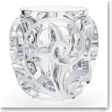 "Lalique Clear Tourbillons 8 1/8"" Vase, Clear"