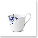 Royal Copenhagen, Blue Fluted Mega High Handle Mug 11oz.
