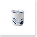 Royal Copenhagen, Blue Fluted Mega Storage Jar Medium 27oz.
