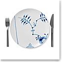 "Royal Copenhagen, Blue Fluted Mega Luncheon Plate Coupe 9"""