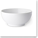 Royal Copenhagen, White Fluted Bowl 1 Pint