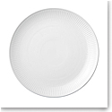Royal Copenhagen, White Fluted Dinner Plate Coupe 10.75""
