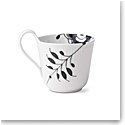 Royal Copenhagen, Black Fluted Mega High Handle Mug 11oz.
