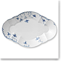Royal Copenhagen, Blue Elements Oval Platter, Large 15""