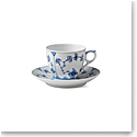 Royal Copenhagen, Blue Fluted Plain Coffee Cup & Saucer 5.5oz.