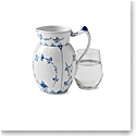 Royal Copenhagen, Blue Fluted Plain Jug 1.5 Pint