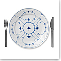 Royal Copenhagen, Blue Fluted Plain Dinner Plate, Single