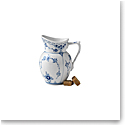 Royal Copenhagen, Blue Fluted Half Lace Creamer 5.75oz.