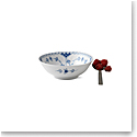 Royal Copenhagen Blue Fluted Half Lace Cereal Bowl, Single