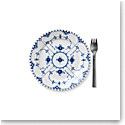 Royal Copenhagen, Blue Fluted Full Lace Dessert Plate 7.5""