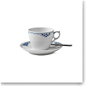 Royal Copenhagen, Princess Coffee Cup & Saucer 5.75oz.