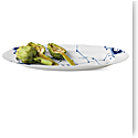 Royal Copenhagen, Blue Fluted Mega Fish Platter 24""