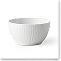 Royal Copenhagen, White Fluted Sugar Bowl 5oz.