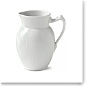 Royal Copenhagen, White Fluted Creamer 13oz.