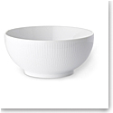 Royal Copenhagen, White Fluted Bowl 1 Qt