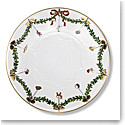 Royal Copenhagen Star Fluted Christmas Cake Dish 12.5""