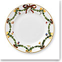 Royal Copenhagen, Star Fluted Christmas Dessert Plate 7.5""