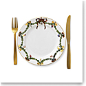 Royal Copenhagen, Star Fluted Christmas Salad Plate 8.75""