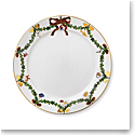Royal Copenhagen, Star Fluted Christmas Dinner Plate 10.75""