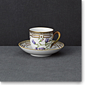Royal Copenhagen, Flora Danica Coffee Cup & Saucer 6oz., Limited Edition