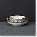 Royal Copenhagen, Flora Danica Handled Soup Cup & Saucer Limited Edition