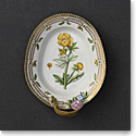 "Royal Copenhagen, Flora Danica Accent Dish With Handle 8.75"", Limited Edition"