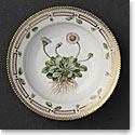 "Royal Copenhagen, Flora Danica Rim Soup Bowl 8.25"", Limited Edition"