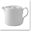 Royal Copenhagen, White Fluted Teapot 25oz.