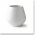 Royal Copenhagen, White Fluted Vase 6""