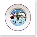 Villeroy and Boch Naif Christmas Salad Plate