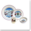 Villeroy and Boch Naif Christmas 4 Piece Place Setting