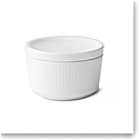 Royal Copenhagen, White Fluted Bowl With Lid 6.75oz.