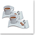Villeroy and Boch New Wave Caffe Espresso for Two Set