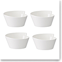 Villeroy and Boch NewWave Large Rice Bowl Set of Four