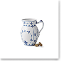 Royal Copenhagen, Blue Fluted Plain Jug 13oz.