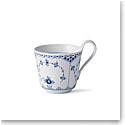 Royal Copenhagen, Blue Fluted Half Lace Hi Handle Mug 11oz.