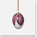 Royal Copenhagen Egg, Fritillary Petals
