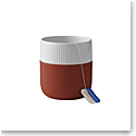 Royal Copenhagen, Contrast Mug Rusty Red 11oz.