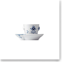 Royal Copenhagen, Blue Elements Espresso Cup and Saucer