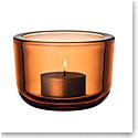 Iittala Valkea Tealight Candleholder Seville Orange