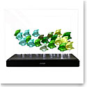 Lalique Aquarium LED Green with 25 Fish